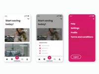 Credit App - UI/UX exploration