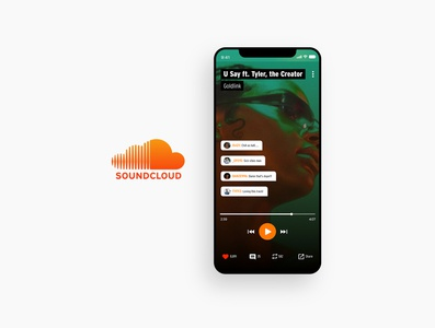 Soundcloud - Redesign