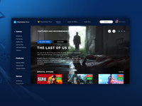Playstation Store - Redesign