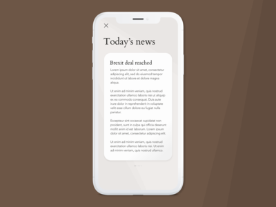 News Briefing App