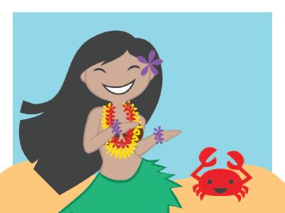 Hulagirl 2 hula girl