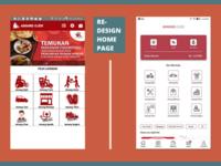 Re-design Amang Ojek Home Page