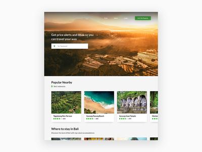 Simple Travel Website