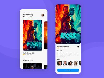 Cinema App: Home & Movie Detail