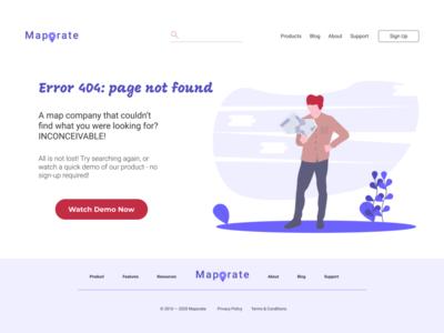 Daily UI #008: 404 page not found dailyui error 404 error 404
