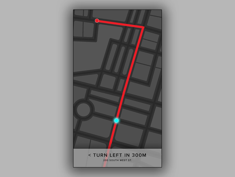 Dailyui 029 map design illustrator daily challange streetmap maps 029 dailyui029 vector ux flat minimal illustration mobile branding ui typography digital design dailyui daily 100 challenge