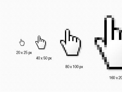 Free Hand Cursor In PSD free psd free design resource psdfreemium download psd cursor icon