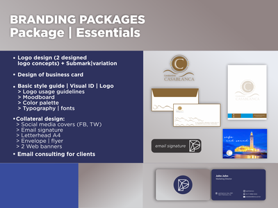 Branding Package logos concept minimal vector typography branding design logotype
