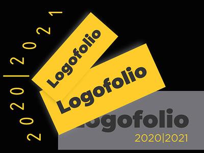 Logofolio Cover art illustration logodesign logotype