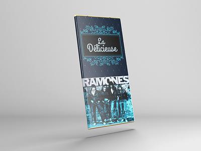 Ramones Choco Bar photoshop editing