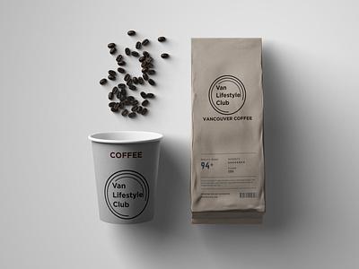 VLC COFFEE illustration art logotype typography branding design coffee