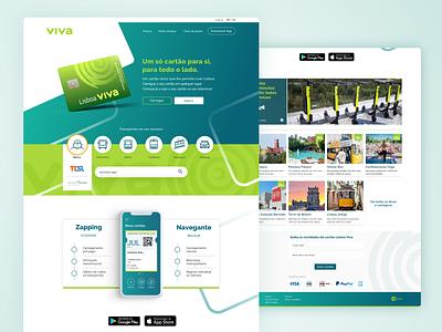 Portal VIVA - UX case study mobility uiux ui lisboa