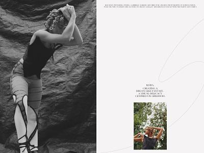 Shoot with Kiara adobe illustrator magazine web graphic design art direction photography graphicdesign branding design