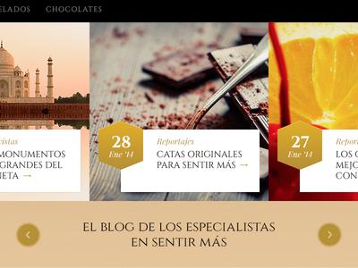 Nestle Gold Website Detail