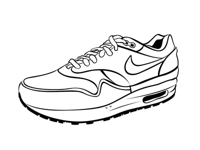 Air max nike vector art illustration 89 shoes trainings design