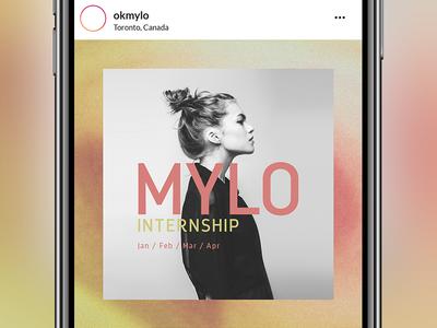 Mylo Instagram Post Graphic