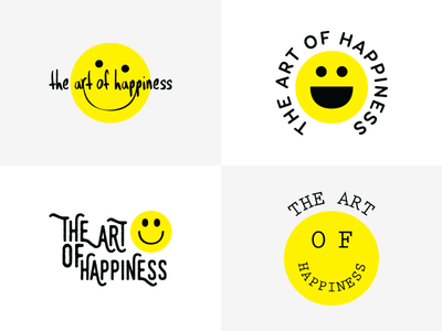 The Art of Happiness Logo Concepts