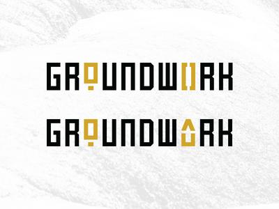 """Groundwork"" Logo Concepts"
