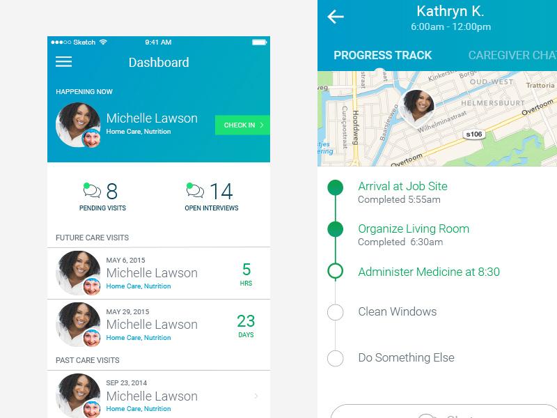 Uplift Dash dashboard ux interface app mobile ios ui