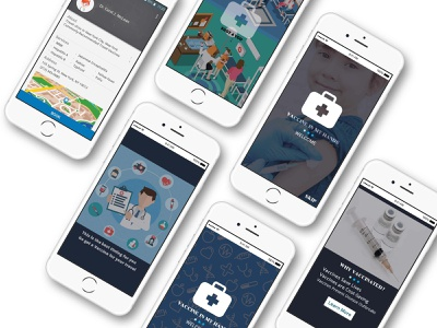 Travel Vaccination History Tracking type typography brand app website web ux ui mobile minimal ios identity design clean branding