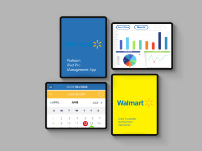 iPAD Walmart Management redesign
