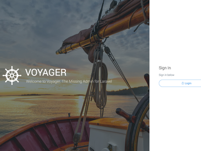 Voyager - The Missing Laravel Admin bread builder crud builder composer package package admin laravel