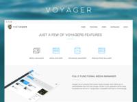 Laravel Admin Package - Voyager Site