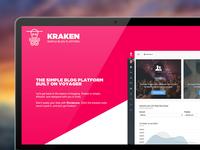 Kraken Blog Platform