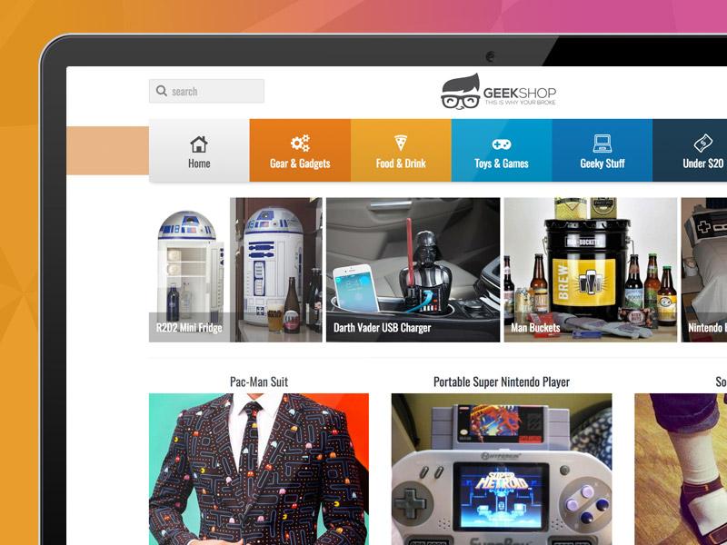 Geekshop Script - Create Your Own Geeky Product Affiliate