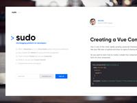 Sudo - The Blogging Platform For Developer