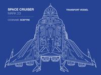 Space Cruiser- Sceptre