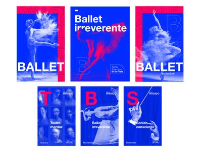 Identidad / Visual Identity - Teatro Argentino de la Plata
