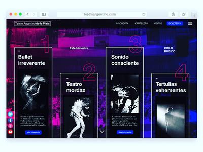 Web | Teatro Argentino