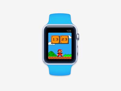 Mario Watch Face