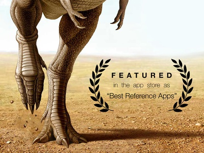 Best Reference App trex dinosaurs dinosaur featured app reference best promote appstore