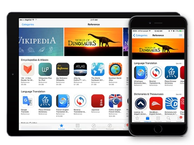 Got Promoted !!! dinosaurs featured app reference best promote appstore