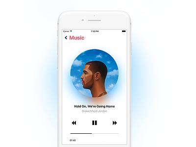 Music Player app play audio music player player ios music