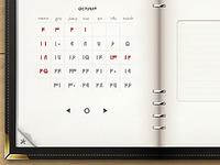 Roozshomar Calendar