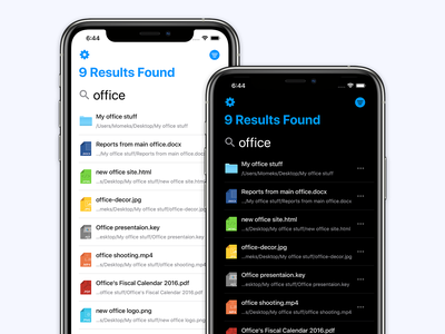 Find It 2.0 app store application ipad apple ios files search bar documents file manager find it finder