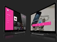 tv app psd set