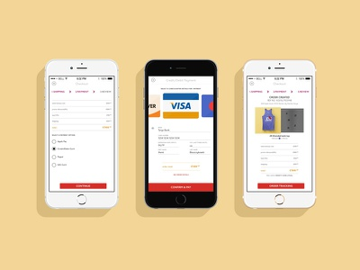 Checkout Process shop ecommerce user interface iphone ui app apple checkout ios