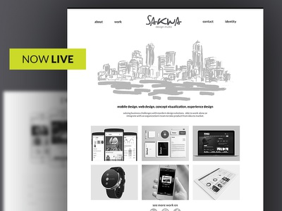 Now Live responsive ui design ux ui website