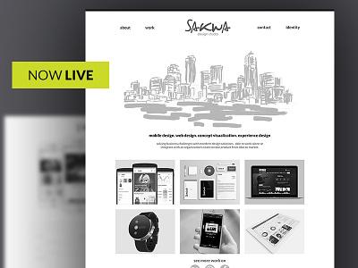 Now Live responsive ui design ux ui website