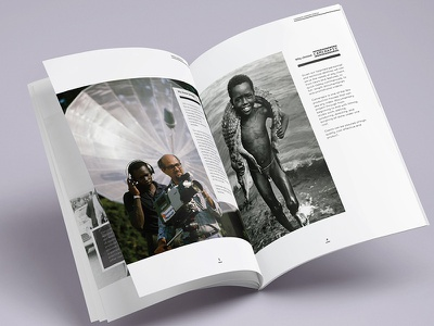 Company Profile design print brochure photography magazine profile