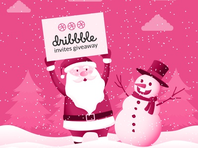 Invites Giveaway invites giveaway invite dribbble