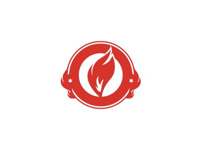 Burning new logo