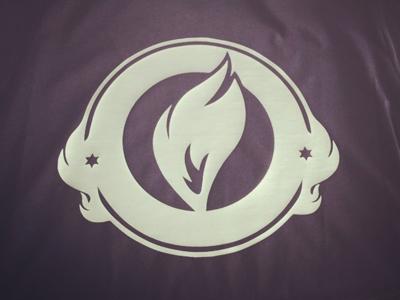 Burning t shirt