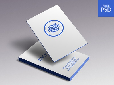 Business Cards Mockup - free psd