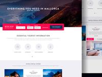 Homepage Hotel - Website