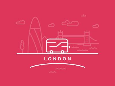 London City thames river clouds plane bridge tower city bus london